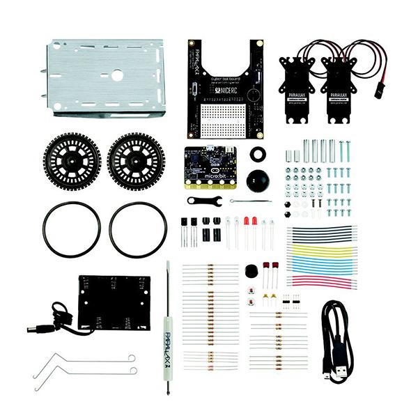 cyber:bot Robot Kit - with micro:bit