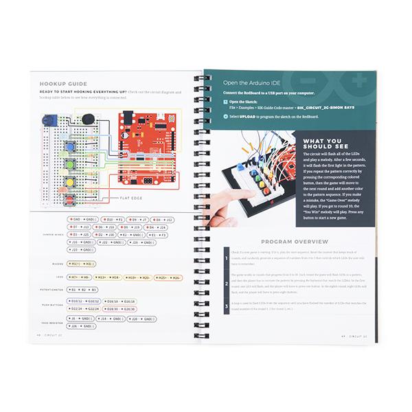 SparkFun Inventor's Kit Guidebook - v4.1a