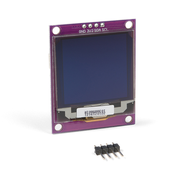 Zio Qwiic OLED Display (1.5inch, 128x128)