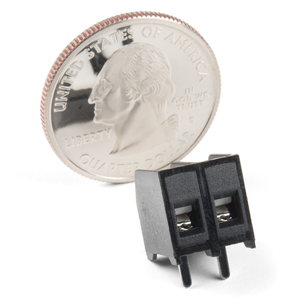 Latch Terminals - 5mm Pitch (2-Pin)