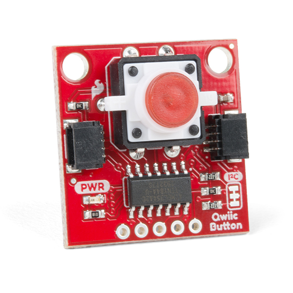 SparkFun Qwiic Button - Red LED