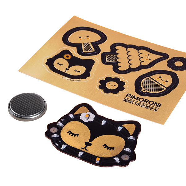 PiMoroni Bearables Fox LED Badge