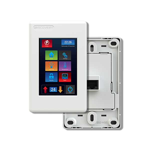 4Discovery Intergrated Wall Mount Display 3.5""