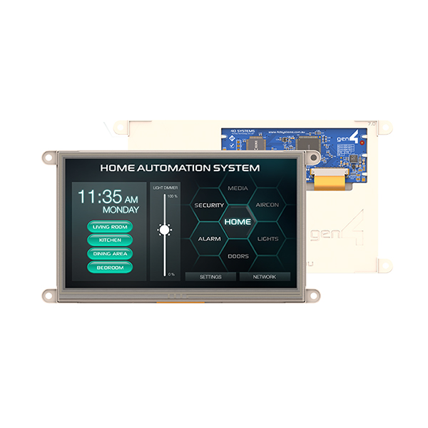 "7.0"" Gen4 Primary Display for the Raspberry Pi - Resistive Touch"
