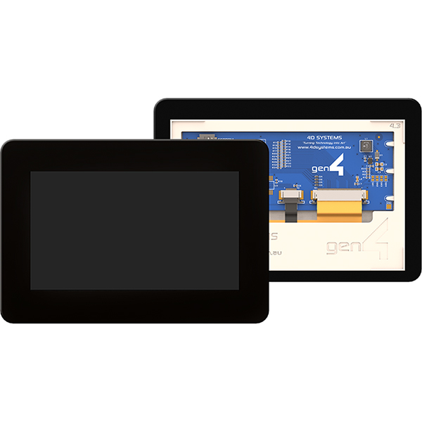 "4.3"" Gen4 Display Cape for BeagleBone Black - Capacitive Touch"