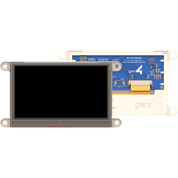 "4.3"" Gen4 Display Cape for BeagleBone Black - Resistive Touch"