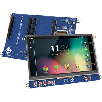 "7.0"" LCD Cape for BeagleBone Black"