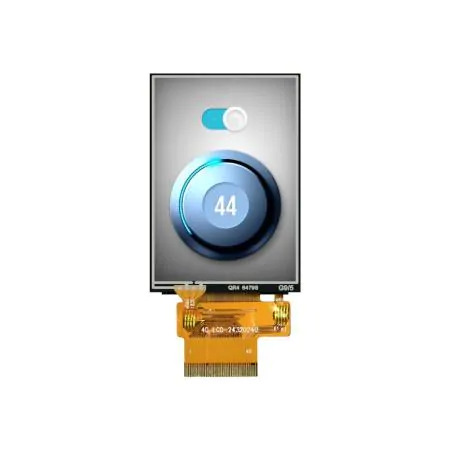 """2.4"""" TFT LCD Display with Capacitive Touch"""