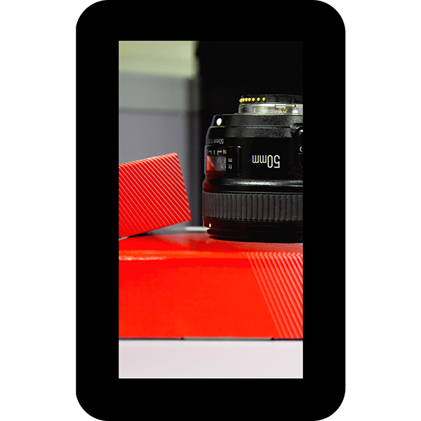 """4.3"""" TFT Display with Capacitive Touch and Cover Lens Bezel"""