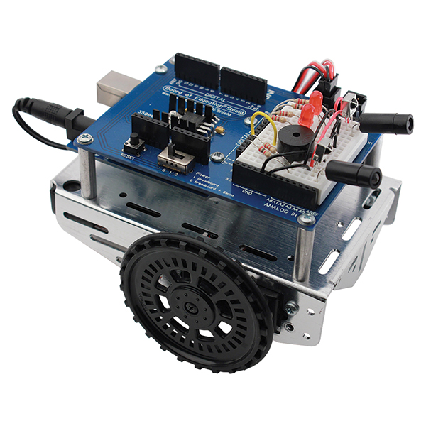 Parallax Shield Robot with Arduino