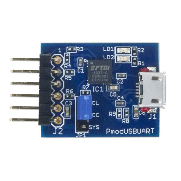 Pmod USB to UART Interface