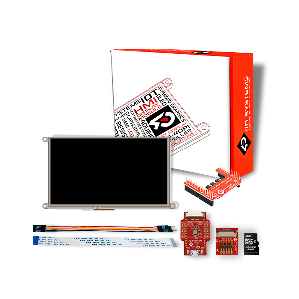 "9.0""  Display Starter Kit for Arduino"