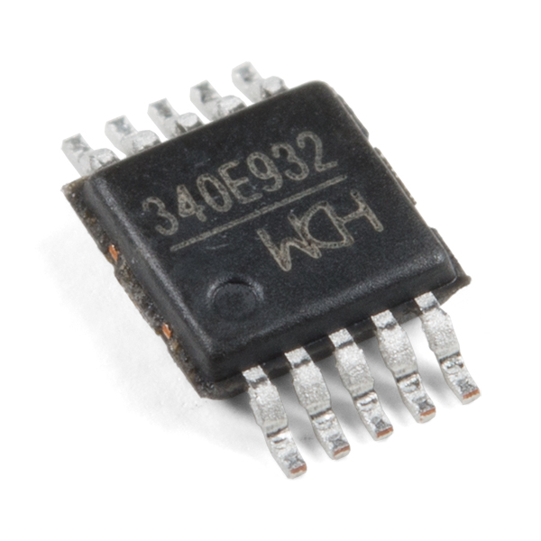 USB to Serial IC - CH340E (10 Pack)