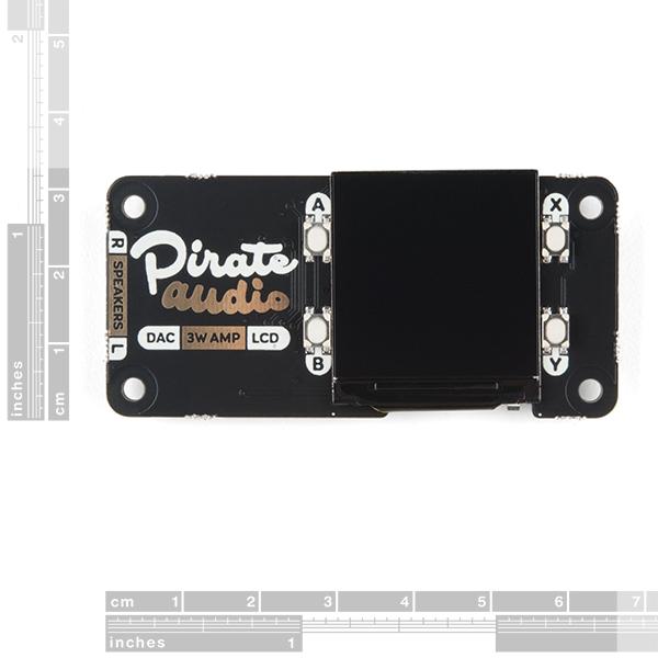 Pimoroni Pirate Audio 3W Stereo Amp for Raspberry Pi