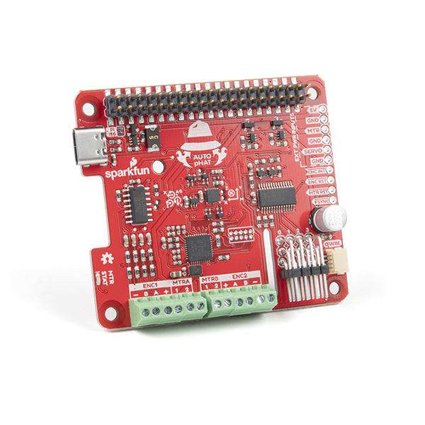 Auto pHAT for robotics with Raspberry Pi