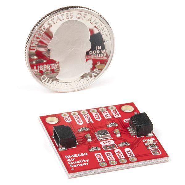 SparkFun Environmental Sensor Breakout - BME680 (Qwiic)