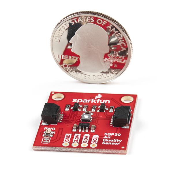 SparkFun Air Quality Sensor - SGP30 (Qwiic)