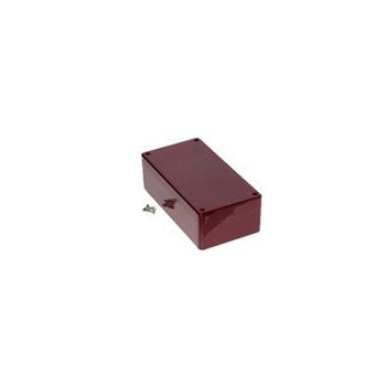 """Polycarbonate Case - 1.8 x 3.2 x 5.9"""" Red"""
