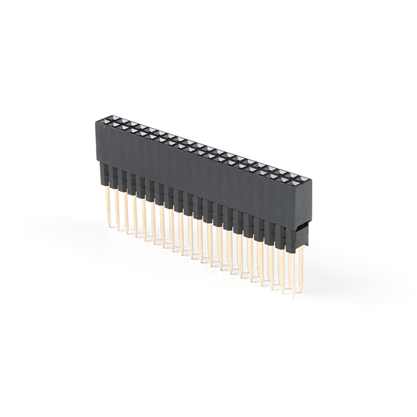 Extended GPIO Female Header - 2x20 Pin (13.5mm/9.80mm)