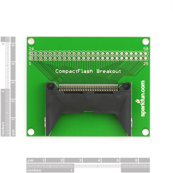 Breakout Board CF Compact Flash Cards - Full (Sale)