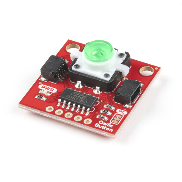 SparkFun Qwiic Button - Green LED