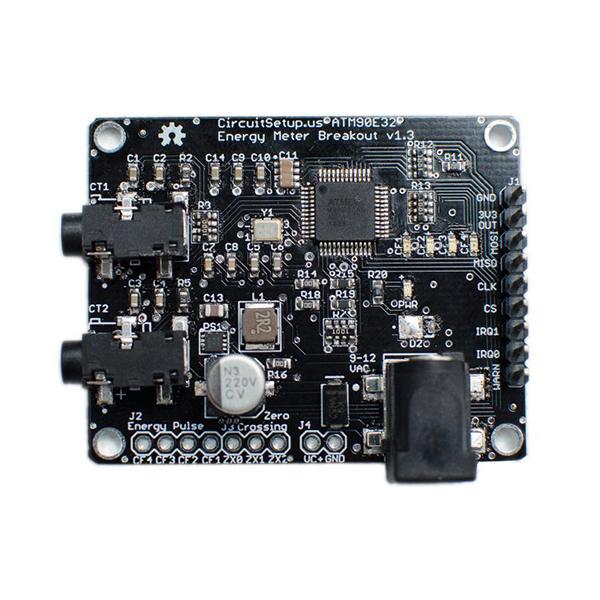 Circuit Setup Energy Meter Board