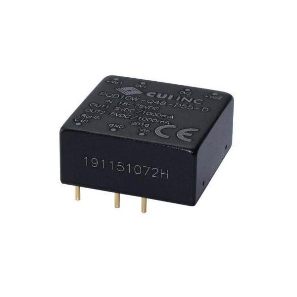 10W Dual-Output DC/DC Converter - 5/5VDC