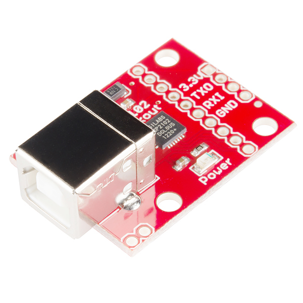 SparkFun USB to Serial Breakout - CP2102 - BOB-00198 - SparkFun