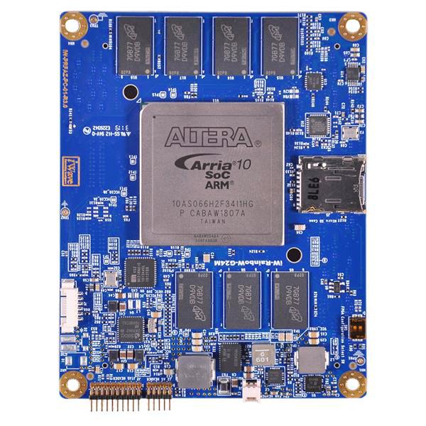 Arria 10 SoC with 1 speed (Dual ARM Cortex A9 + 660K LE)