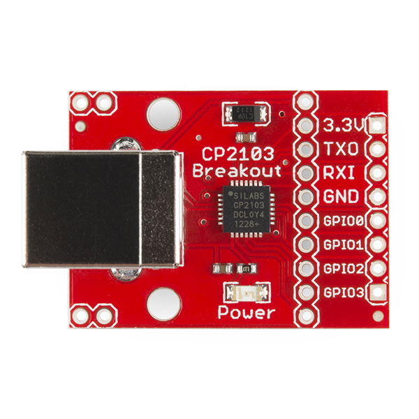 SparkFun USB to Serial GPIO Breakout - CP2103