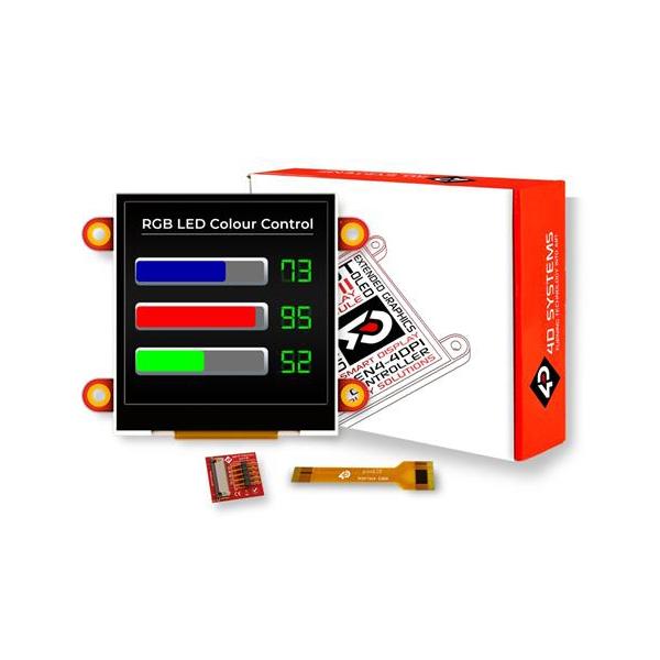 "pixxILCD Smart Display Module - 2.5"""