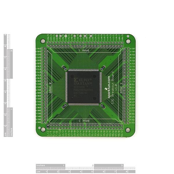 Spartan 3E Breakout Board