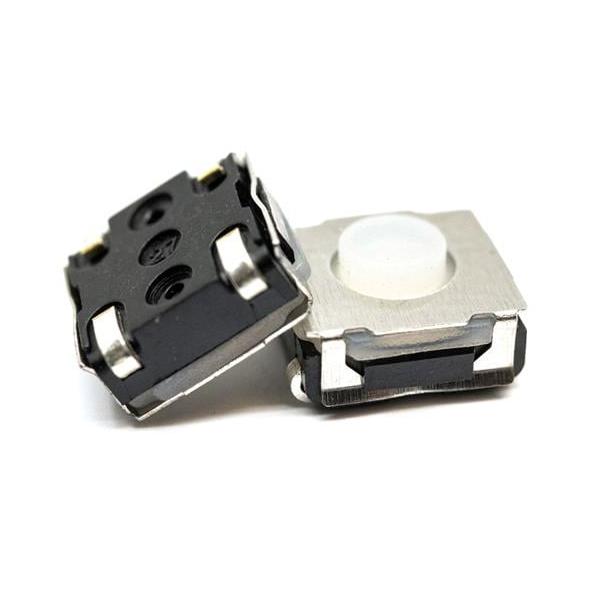 Tactile Switch - 50mA, 12VDC, 5.2mm, 350gf, J lead