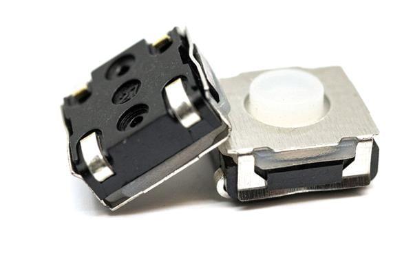 Tactile Switch - 50mA, 12VDC, 3.5mm, 260gf, J lead