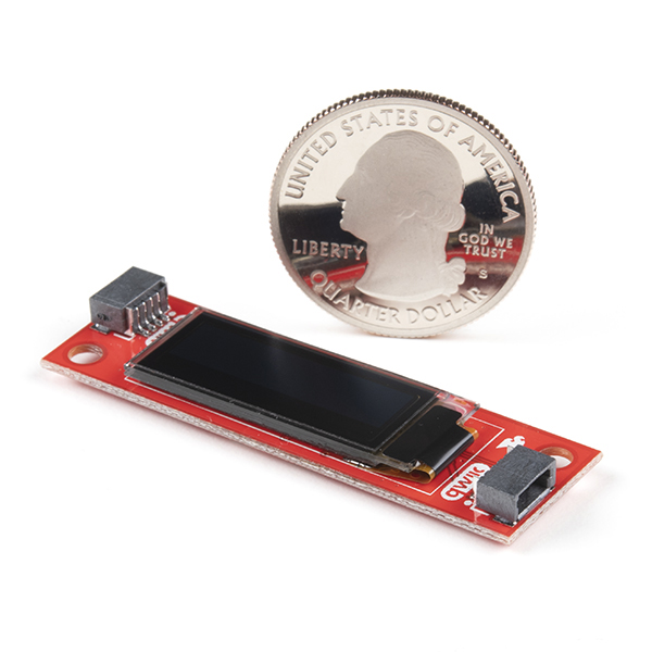 SparkFun Qwiic OLED Display (0.91 in, 128x32)