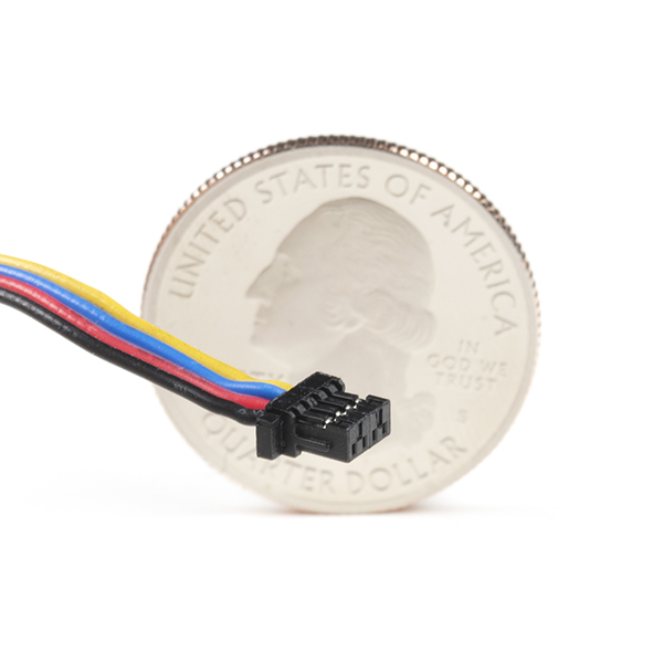 Flexible Qwiic Cable - Female Jumper (4-pin)