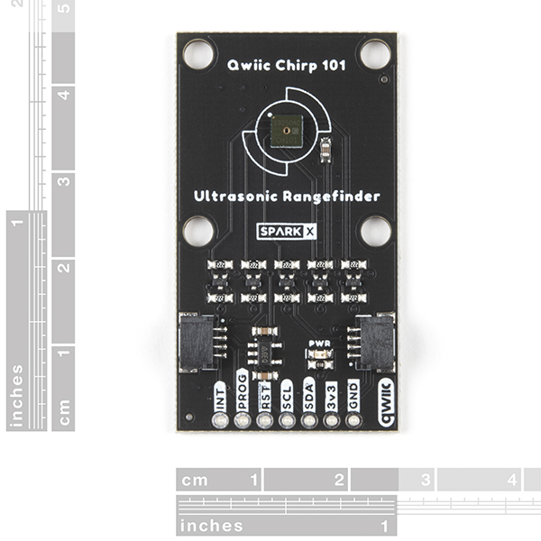 Qwiic Chirp 101 Ultrasonic Rangefinder SMT
