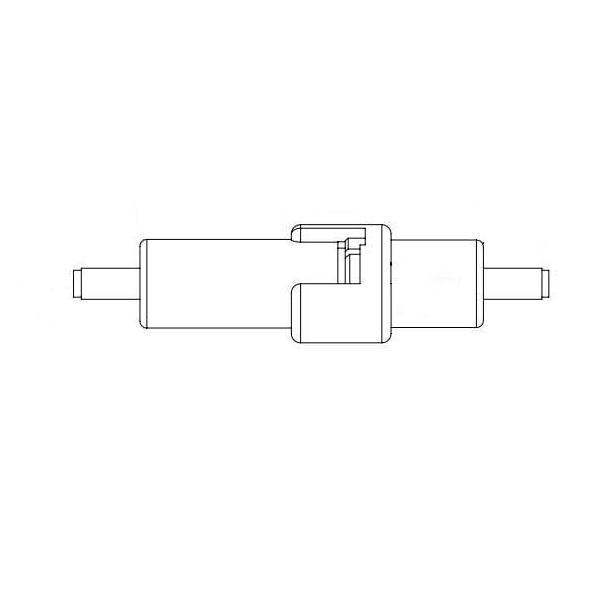 Fuse Holder 600V inline, crimp terminal, 20A rated, for 1/4 x 1-1/4 fuses