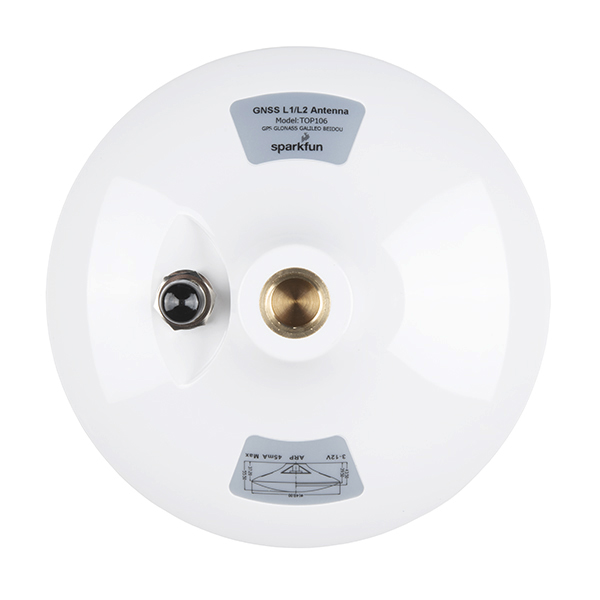 GNSS Multi-Band L1/L2 Surveying Antenna (TNC) - TOP106 Without RF Shield