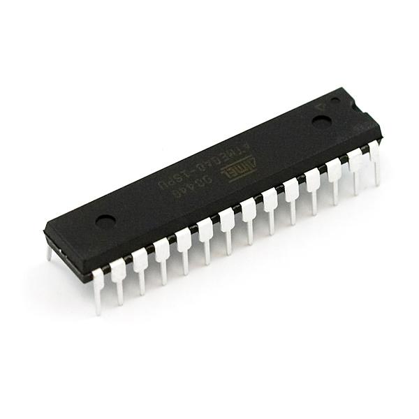 AVR 28 Pin 16MHz 8K 6A/D - ATMega8
