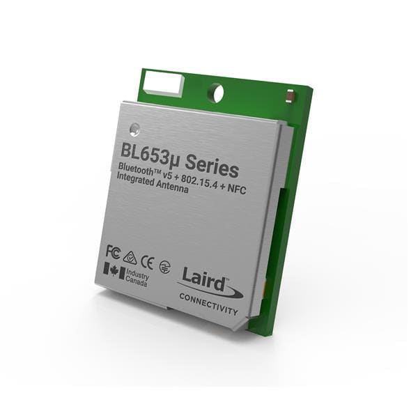 Laird Connectivity BL653µ Nordic nRF52833 Module - Integrated antenna