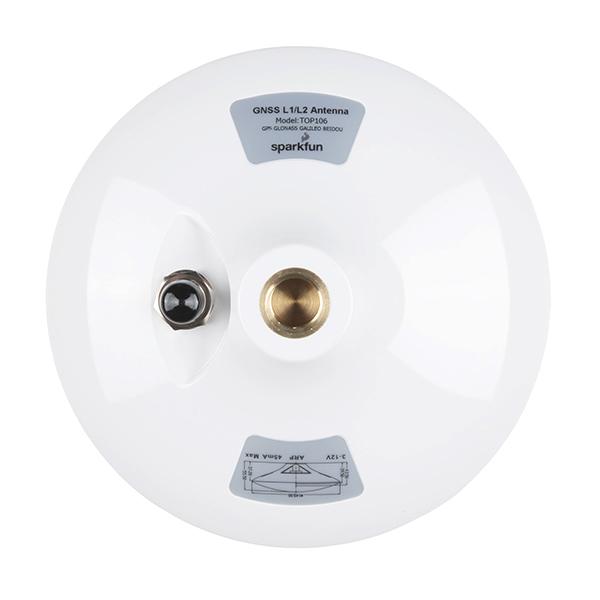 GNSS Multi-Band L1/L2 Surveying Antenna (TNC) - TOP106