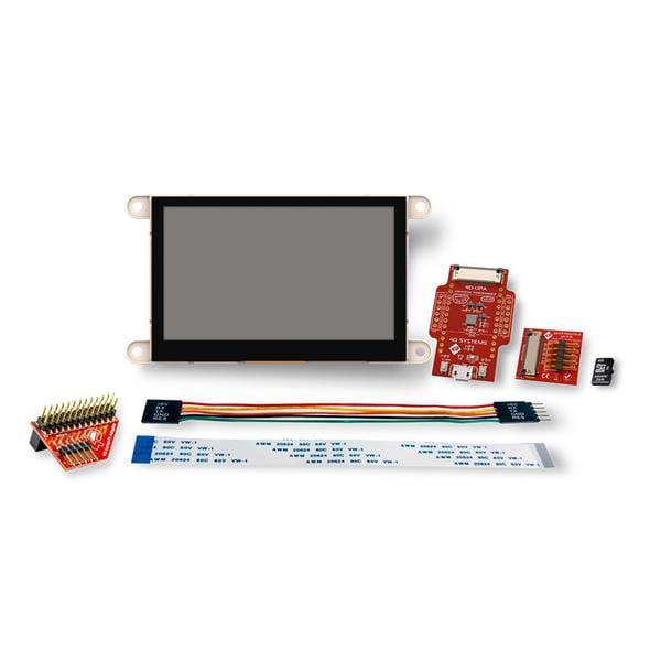 4D Systems SK-GEN4-43DCT Starter Kit w/ serial Pi adaptor