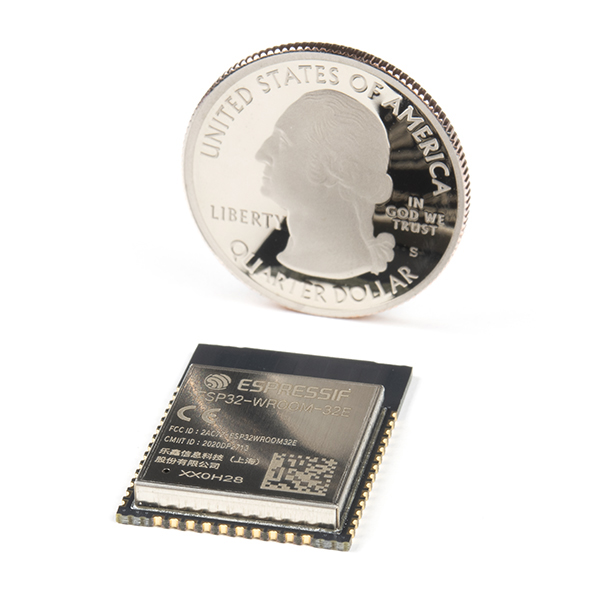 ESP32 WROOM MCU Module - 16MB (PCB Antenna)