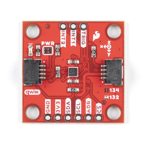 SparkFun Triple Axis Accelerometer Breakout - KX132 (Qwiic)