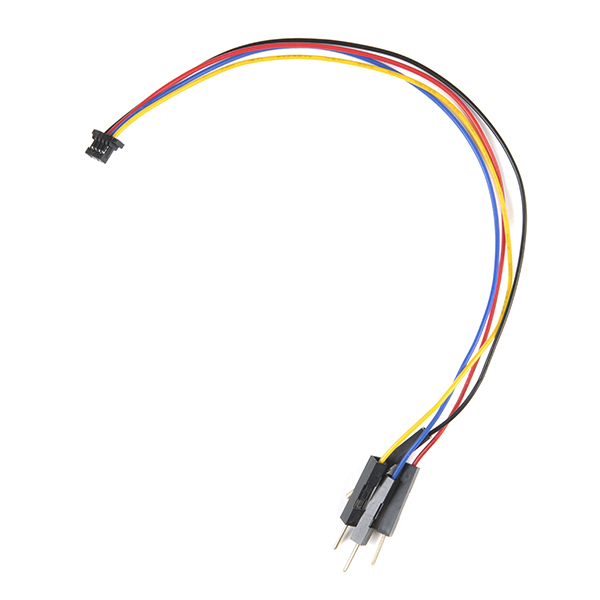 Flexible Qwiic Cable - Breadboard Jumper (4-pin)