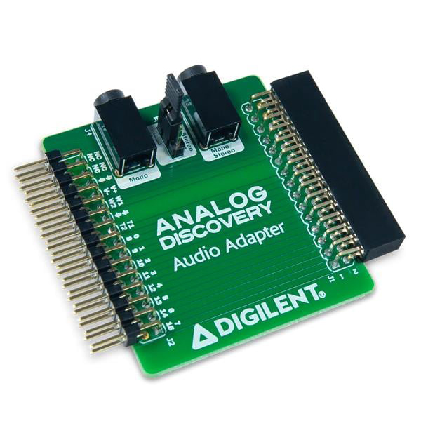 Digilent Audio Adapter for Analog Discovery