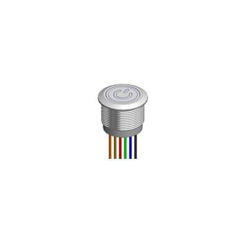 Dailywell TC Capacitive Touch Switch - 19mm, RGB