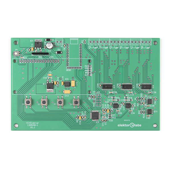 Elektor 6-Channel Temperature Monitor & Logger – Partly Assembled Module