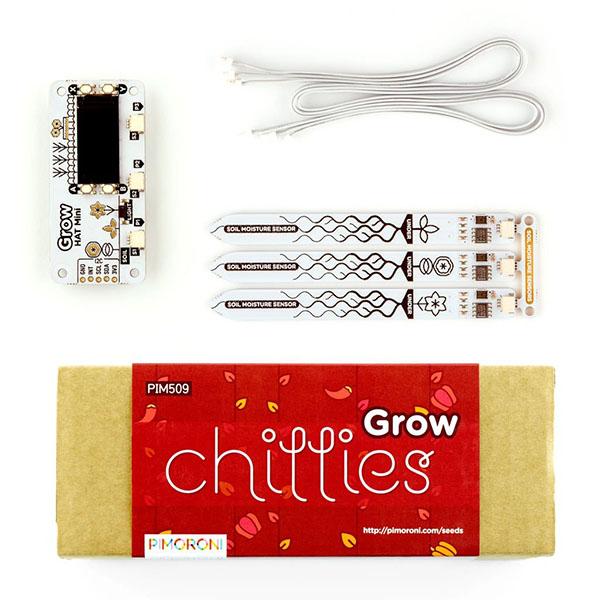 Pimoroni PIM519 Grow - Grow Kit + Chilli Pack
